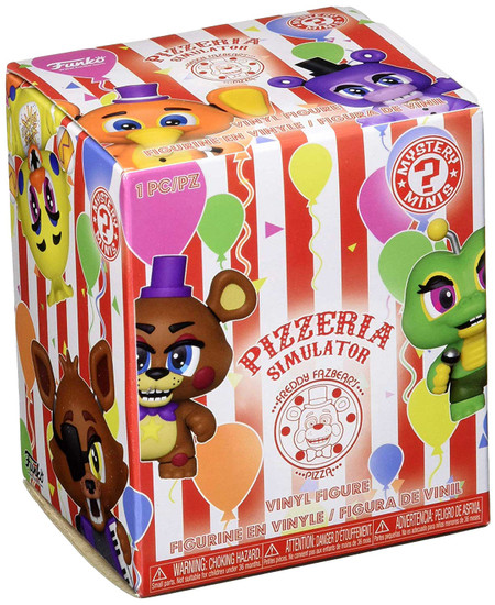 Funko Five Nights at Freddy's Mystery Minis Pizzeria Simulator Mystery Pack [1 RANDOM Figure]
