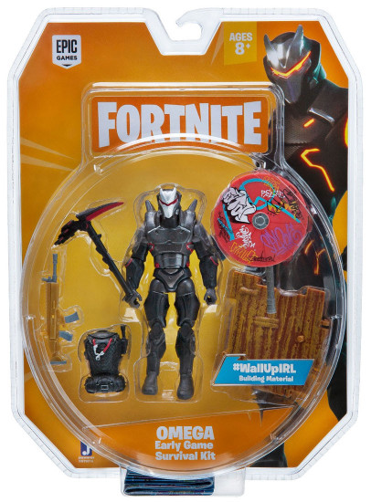 Fortnite Early Game Survival Kit Omega Action Figure