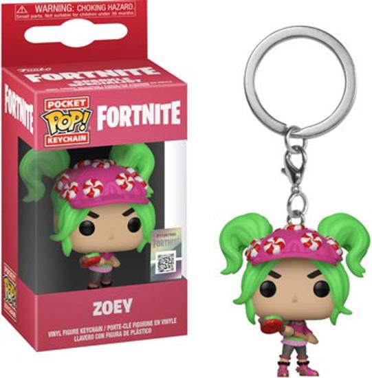 Funko Fortnite Series 2 Pocket POP! Games Zoey Keychain