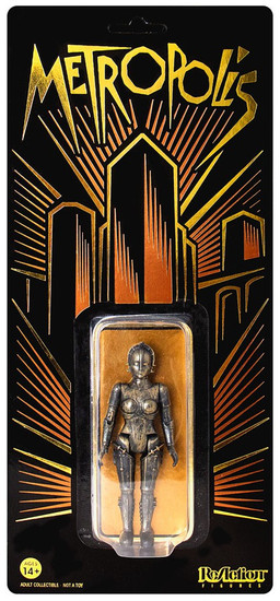 ReAction Metropolis Maria Exclusive Limited Edition Action Figure [Copper]