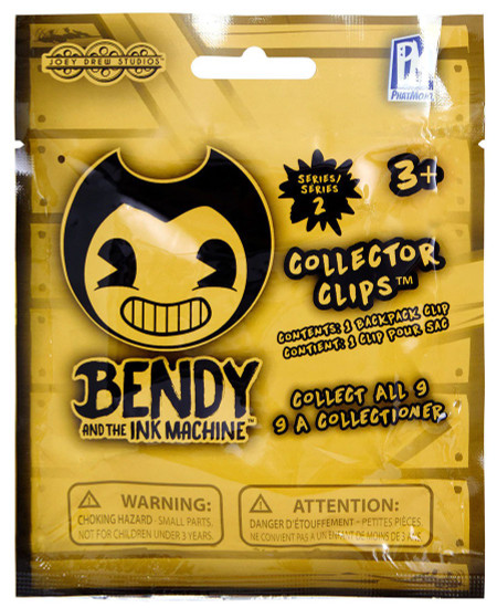 Bendy and the Ink Machine Series 2 Collector Clips Mystery Pack