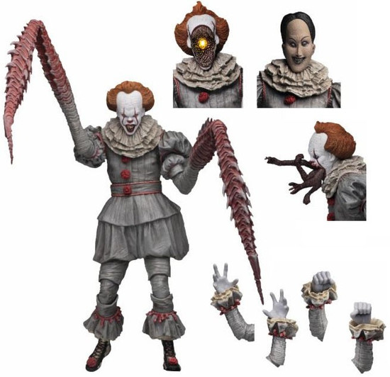 NECA IT Movie (2017) Pennywise Action Figure [Dancing Clown, Ultimate Version]