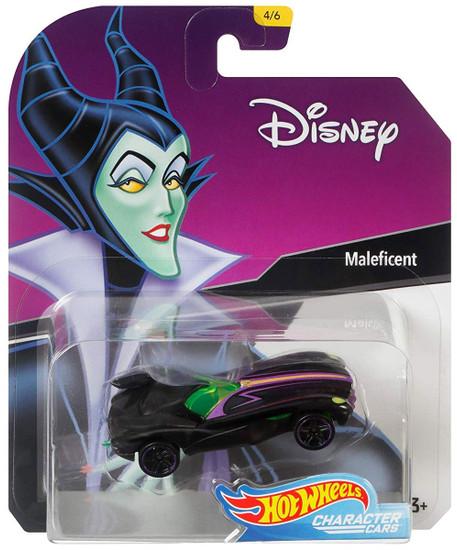Disney Hot Wheels Character Cars Maleficent Die Cast Car