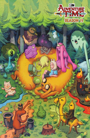KaBOOM! Adventure Time #3 Season 11 Comic Book [Benbassat Variant Covert]