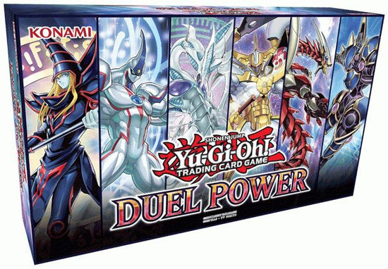 YuGiOh Trading Card Game Duel Power Box [6 Booster Packs & 6 Ultra Rare Variant Cards]