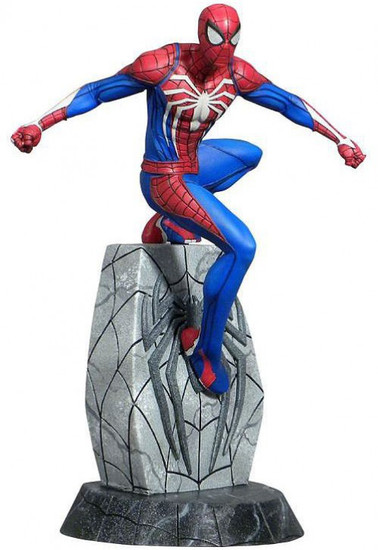 Marvel Gallery Spider-Man 9-Inch Collectible PVC Statue [PS4 Version]