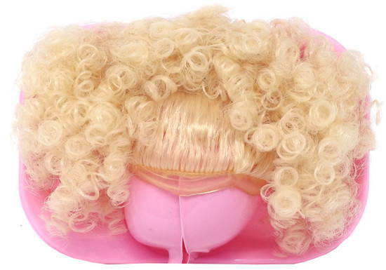 LOL Surprise 2018 LIMITED EDITION Blonde Tightly Curled Puff Brushable Hairstyle Wig [Loose]