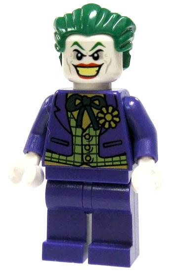 LEGO Batman The Joker Minifigure #1 [Lime Green Checkered Vest Loose]