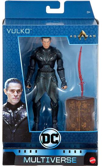 DC Aquaman Multiverse Vulko Exclusive Action Figure