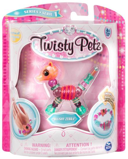 Twisty Petz Series 1 Blushy Zebra Bracelet