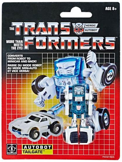 Transformers G1 Tailgate Legion Action Figure