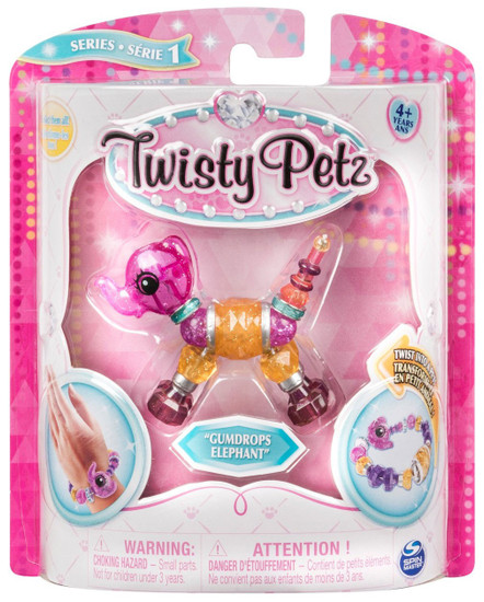 Twisty Petz Gumdrops Elephant Bracelet