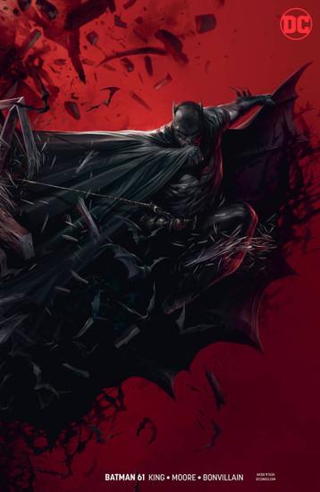 DC Batman #61 Comic Book [Francesco Mattina Variant Cover]
