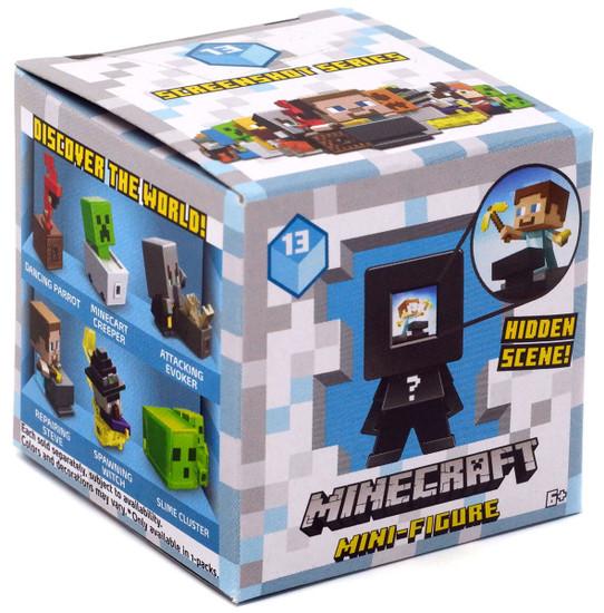 Minecraft Screenshot Series 13 Mystery Pack [1 RANDOM Figure]