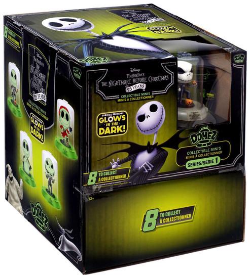 Disney Domez Series 1 Nightmare Before Christmas Mystery Box [24 Packs, Glow-in-the-Dark]