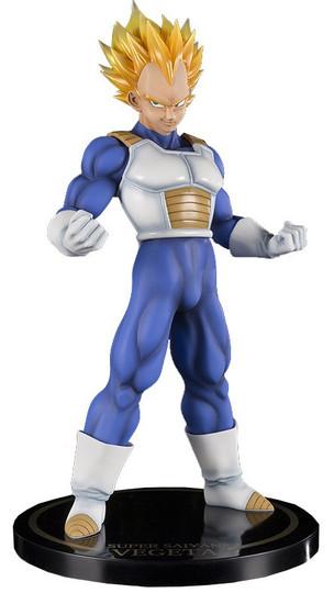 Dragon Ball Figuarts ZERO EX Super Saiyan Vegeta 10-Inch Statue [Damaged Package]