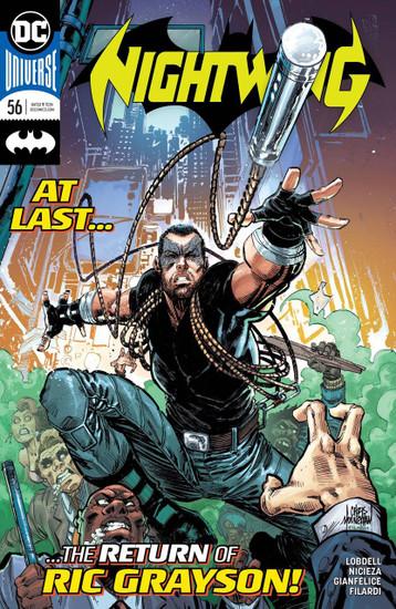 DC Nightwing #56 Comic Book