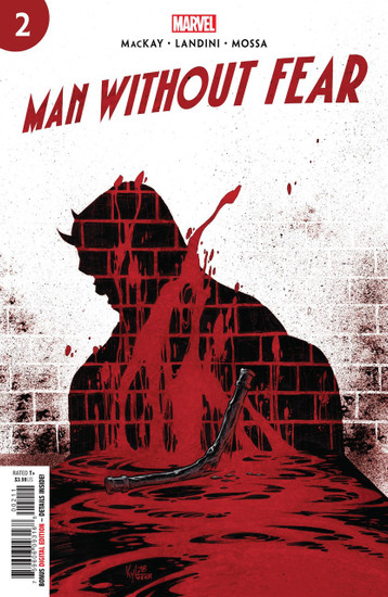 Marvel Comics Man Without Fear #2 Comic Book