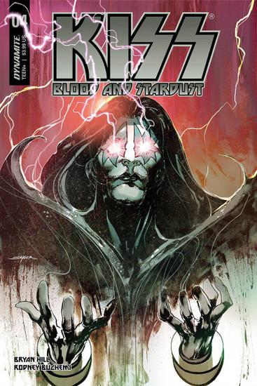 Dynamite Entertainment Kiss Blood Stardust #4 Comic Book
