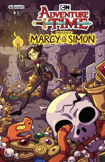 KaBOOM! Adventure Time Marcy & Simon #1 Comic Book [DuBois Variant Cover]