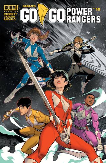 Boom Studios Go Go Power Rangers #16 Beyond The Grid Comic Book