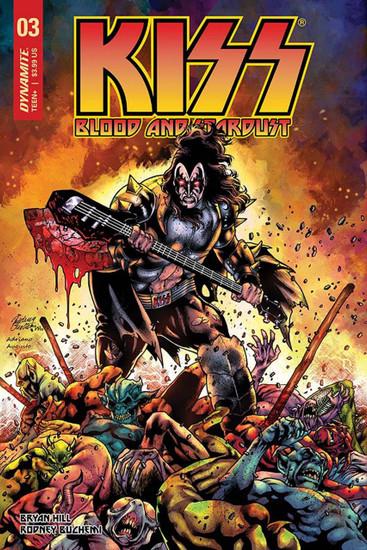 Dynamite Entertainment Kiss Blood Stardust #3 Comic Book [Cover B]