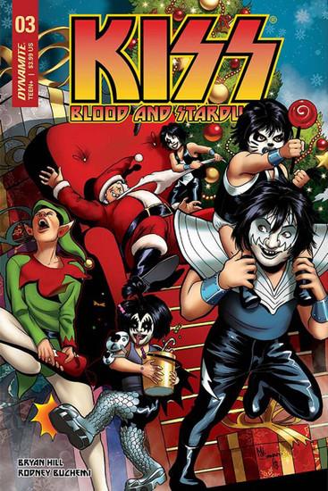 Dynamite Entertainment Kiss Blood Stardust #3 Comic Book [Cover C]
