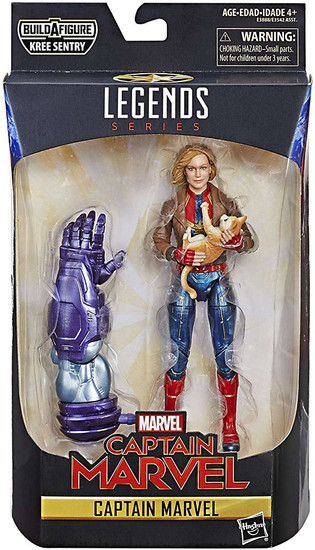 Marvel Legends Kree Series Captain Marvel Action Figure [Bomber Jacket]