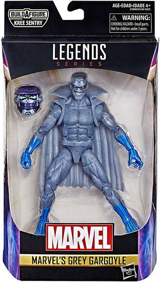 Captain Marvel Marvel Legends Kree Series Grey Gargoyle Action Figure