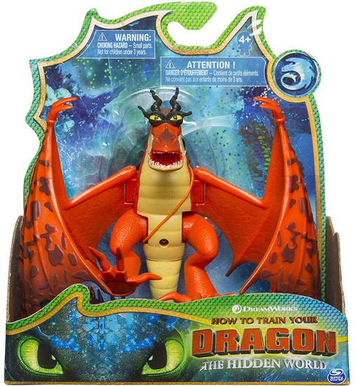 How to Train Your Dragon The Hidden World Hookfang Basic Action Figure