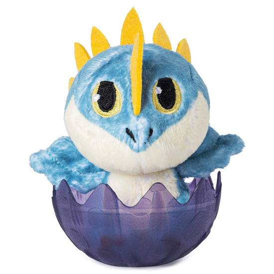How to Train Your Dragon The Hidden World Stormfly 3-Inch Egg Plush [Purple]