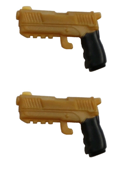 Fortnite Dual Pistols .5-Inch Legendary Figure Accessory [Gold Loose]
