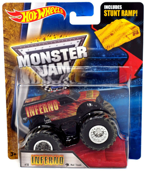 Hot Wheels Monster Jam Inferno Diecast Car [Mud Treads]