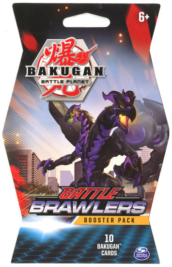 Bakugan Battle Planet Battle Brawlers Series 1 Booster Pack