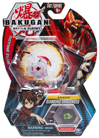 Bakugan Battle Planet Battle Brawlers Bakugan Diamond Dragonoid