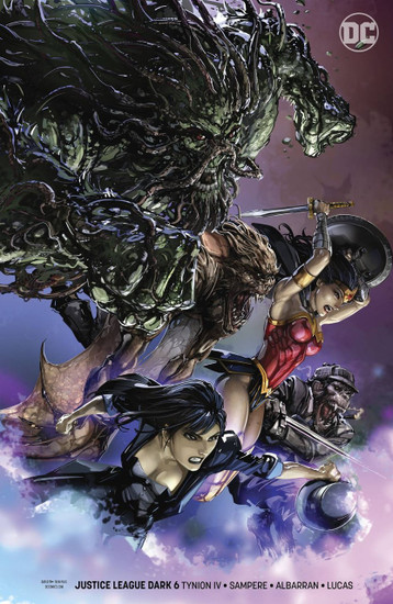 DC Justice League Dark #6 Comic Book [Clayton Crain Variant Cover]