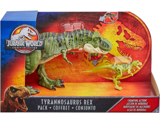 Jurassic World Fallen Kingdom Legacy Collection Tyrannosaurus Rex Exclusive Action Figure 2-Pack [with Baby!]