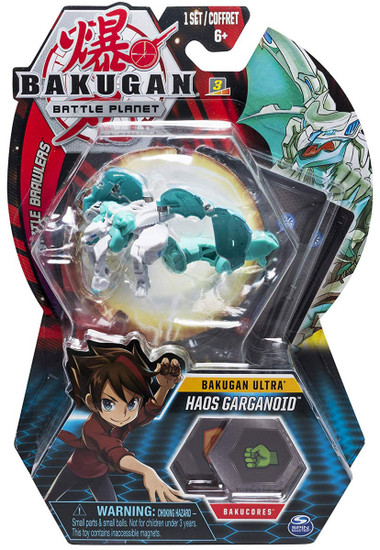 Bakugan Battle Planet Battle Brawlers Ultra Haos Garganoid