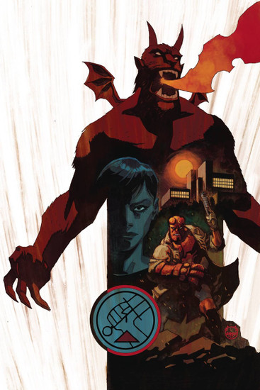 Dark Horse Hellboy and The BPRD 1956 #4 Comic Book
