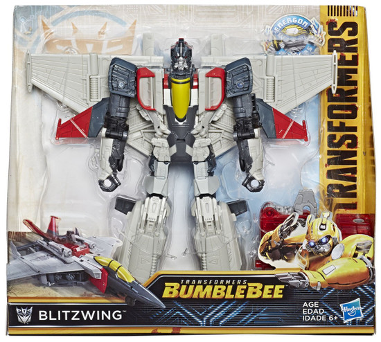 Transformers Bumblebee Movie Energon Igniters Nitro Blitzwing Action Figure
