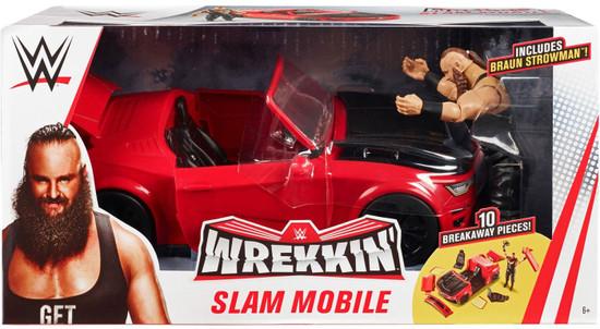 WWE Wrestling Wrekkin' Slam Mobile Playset [Includes Braun Strowman]