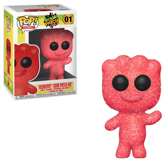 Funko Sour Patch Kids POP! Candy Redberry Sour Patch Kid Vinyl Figure #01