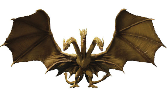 Godzilla King of the Monsters S.H. Monsterarts King Ghidorah 2019 Action Figure