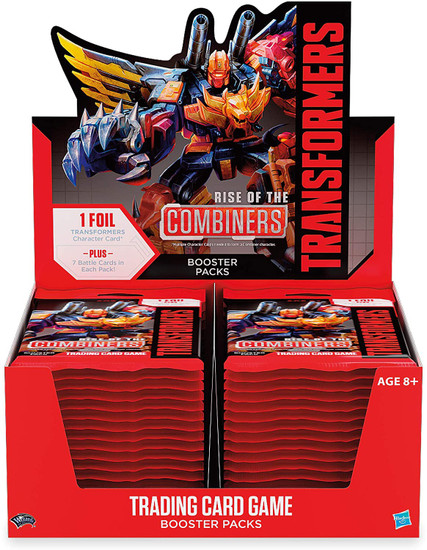 Transformers Trading Card Game Rise of the Combiners Booster Box [30 Packs]
