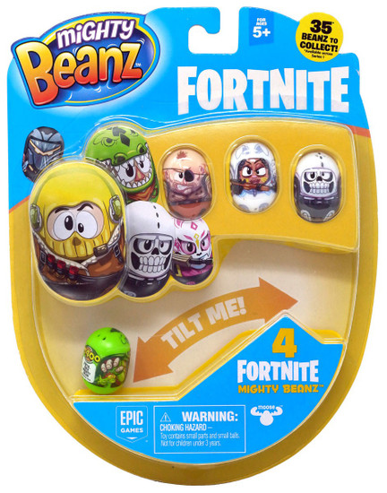 Mighty Beanz Fortnite Rex 4-Pack