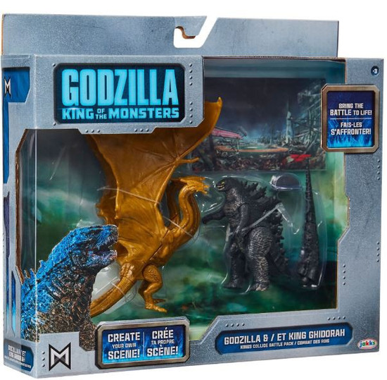 King of the Monsters Matchup King Ghidorah & Godzilla Action Figure 2-Pack