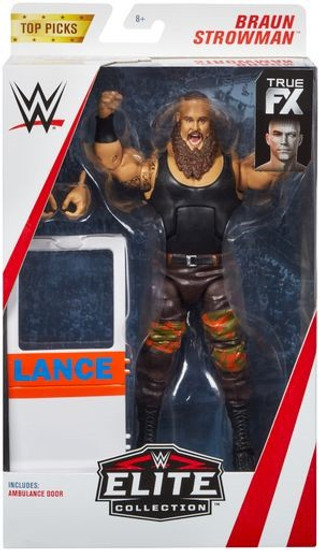 WWE Wrestling Elite Collection Top Picks 2019 Braun Strowman Action Figure [Ambulance Door]