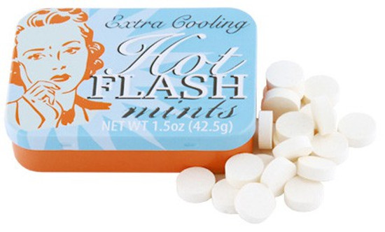 Fun Mints Hot Flash Mints Candy Tin [Extra Cooling]