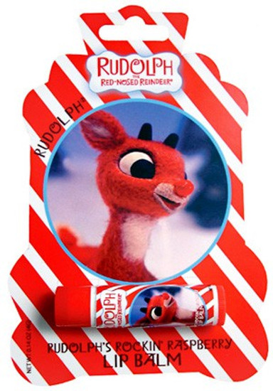 Rudolph the Red-Nosed Reindeer Rudoph Rockin Raspberry Lip Balm