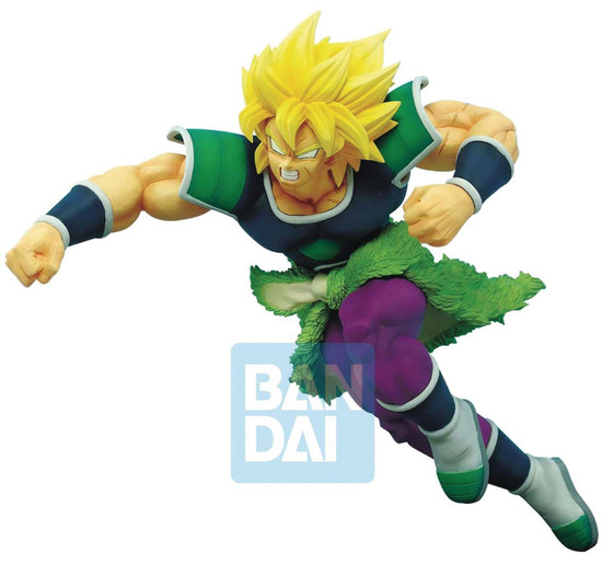 Z-Battle Dragon Ball Z: Buyu Retsuden Super Saiyan Broly 7.5-Inch Collectible PVC Figure